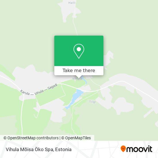Vihula Mõisa Öko Spa map