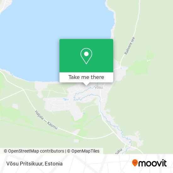 Võsu Pritsikuur map