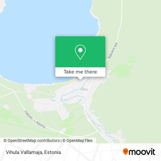 Vihula Vallamaja map