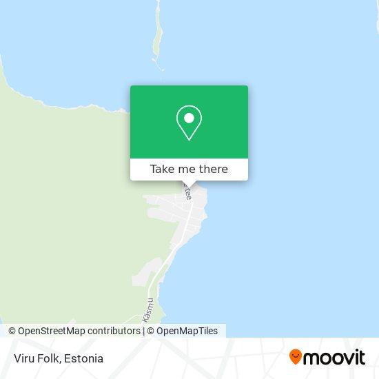 Viru Folk map