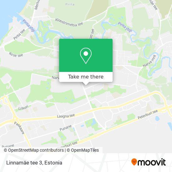 Linnamäe tee 3 map