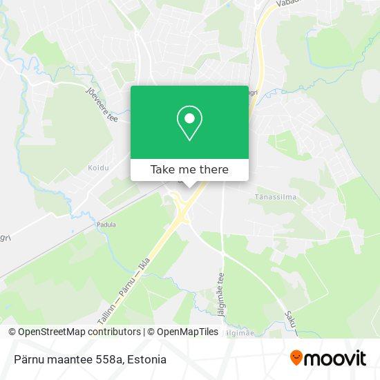 Pärnu maantee 558a map