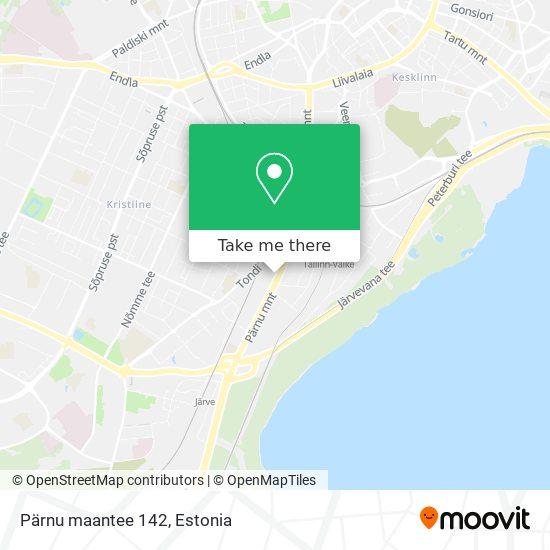 Pärnu maantee 142 map