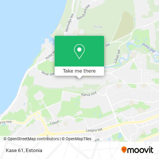 Kase 61 map