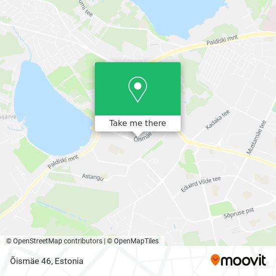 Õismäe 46 map