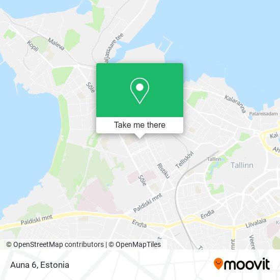 Auna 6 map