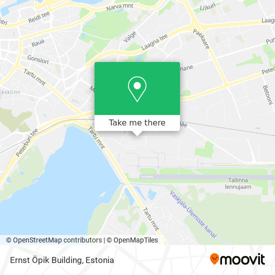 Ernst Öpik Building map
