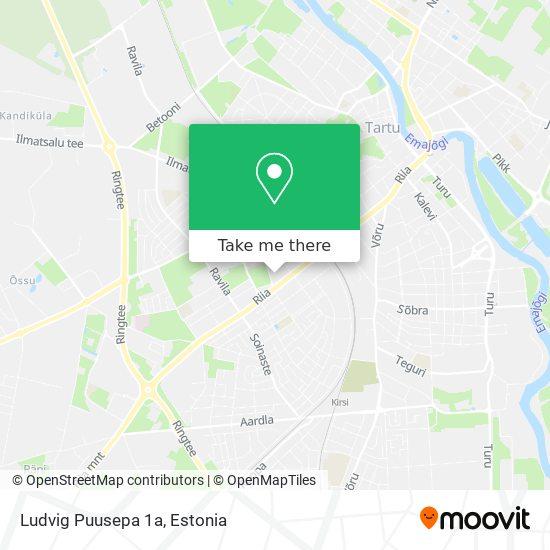Ludvig Puusepa 1a map