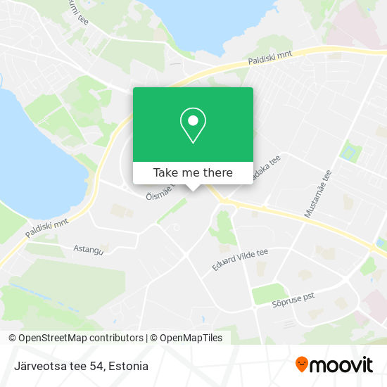 Järveotsa tee 54 map