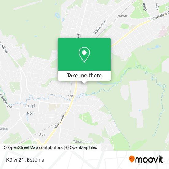 Külvi 21 map