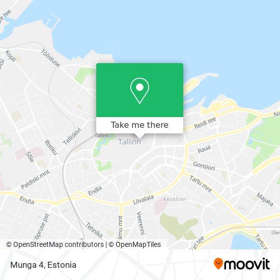 Munga 4 map