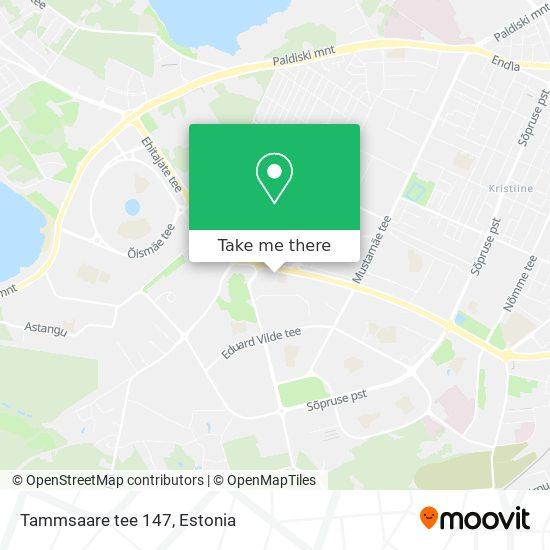 Tammsaare tee 147 map
