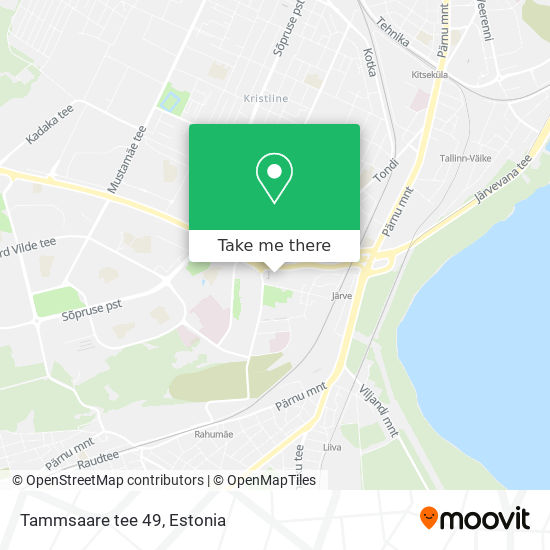 Tammsaare tee 49 map