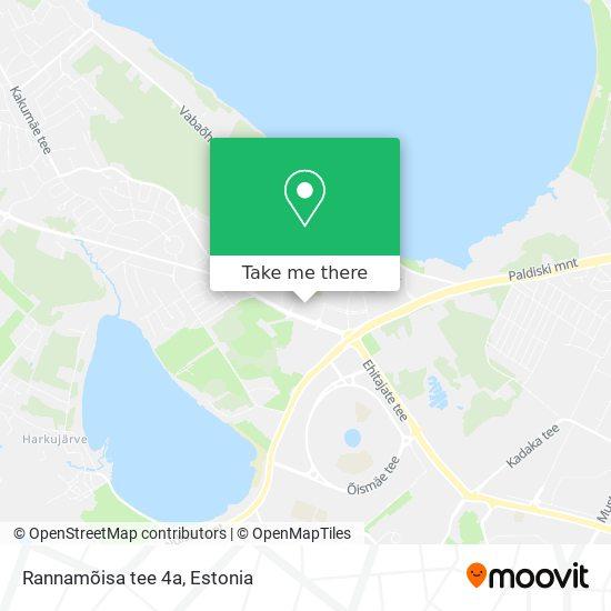Rannamõisa tee 4a map