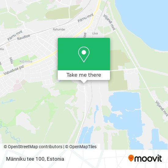 Männiku tee 100 map