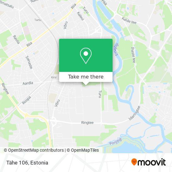 Tähe 106 map