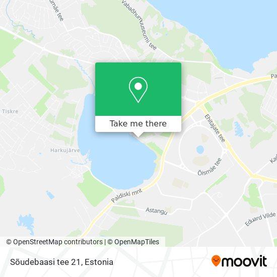 Sõudebaasi tee 21 map