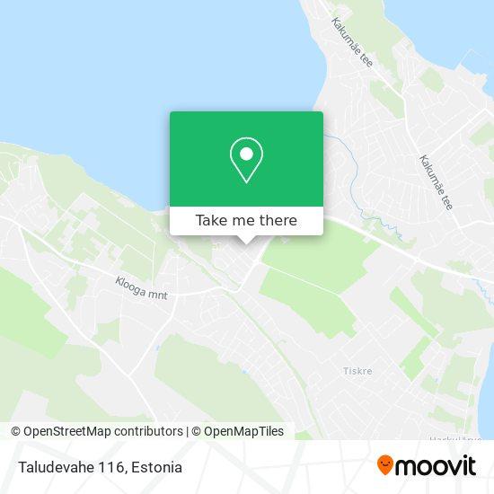 Taludevahe 116 map