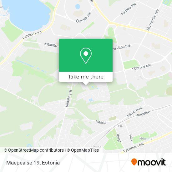 Mäepealse 19 map