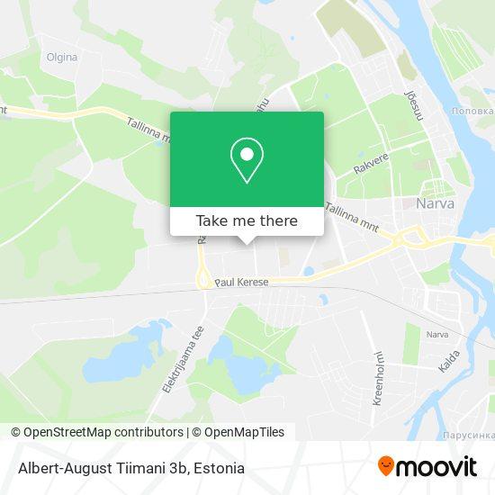 Albert-August Tiimani 3b map
