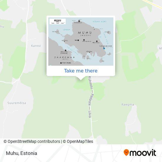 Muhu map