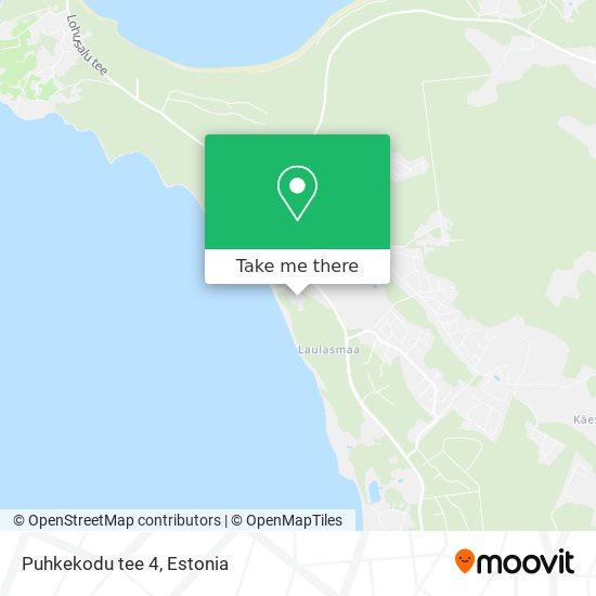 Puhkekodu tee 4 map