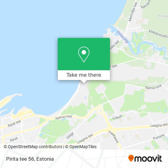 Pirita tee 56 map