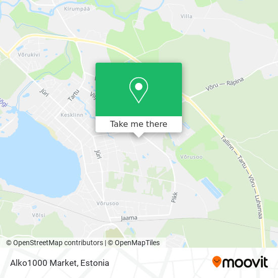 Alko1000 Market map