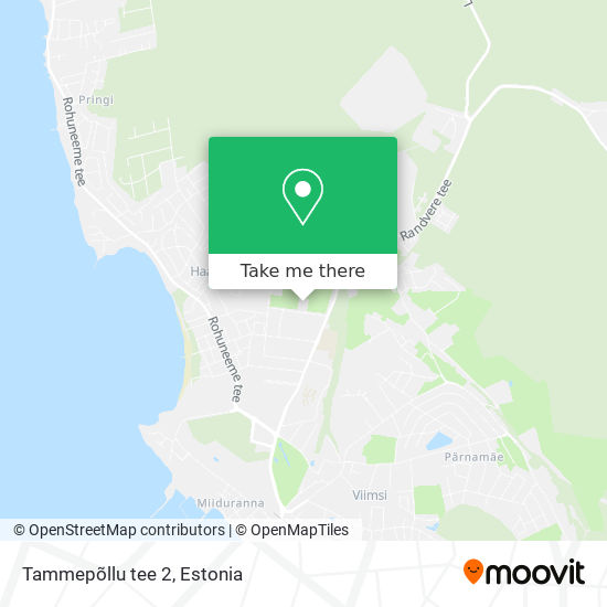 Tammepõllu tee 2 map