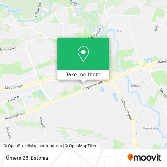 Ümera 28 map