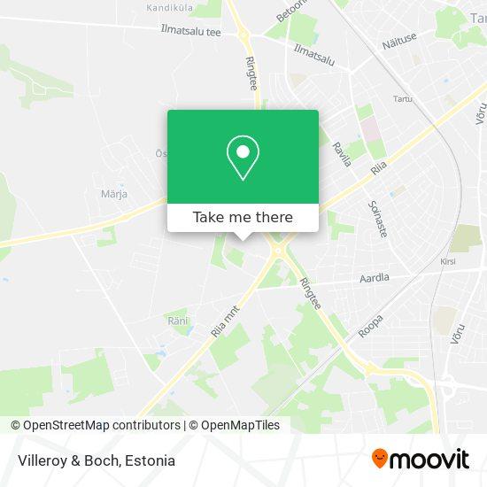 Villeroy & Boch map