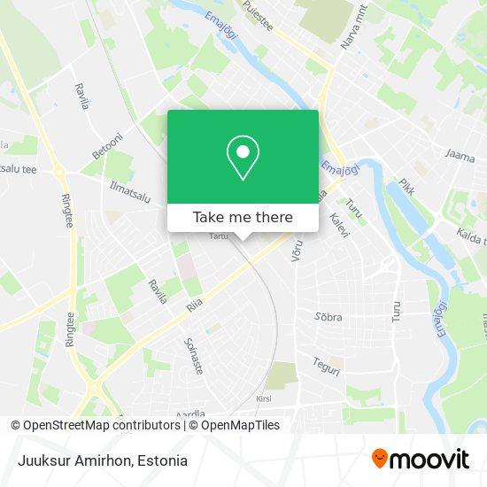 Juuksur Amirhon map