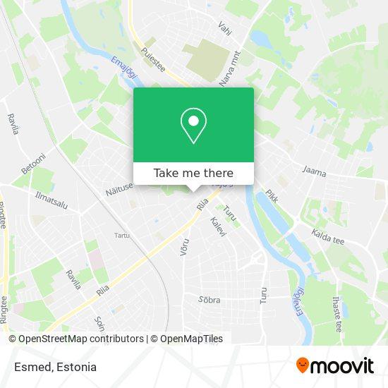 Esmed map