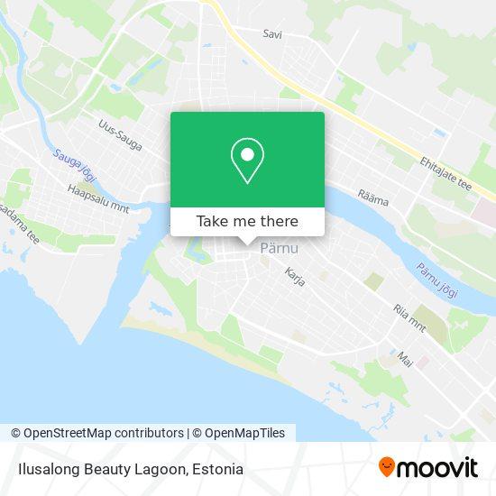 Ilusalong Beauty Lagoon map