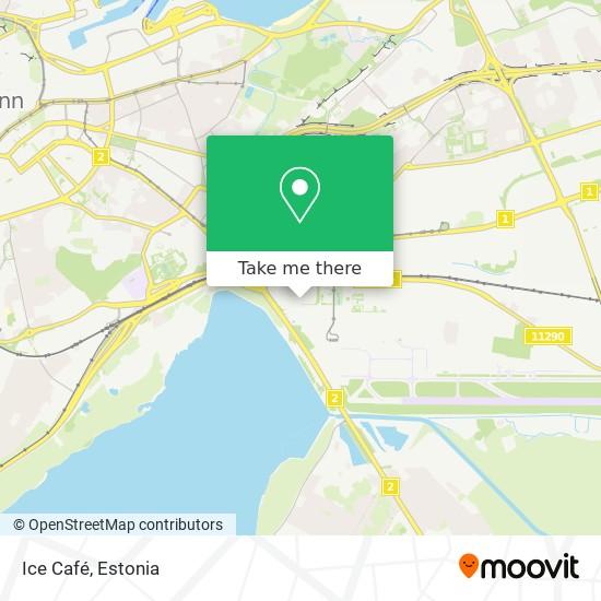 Ice Café map