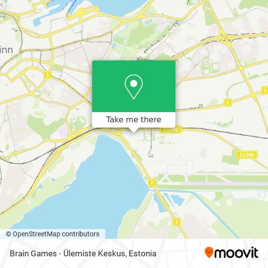 Brain Games - Ülemiste Keskus map