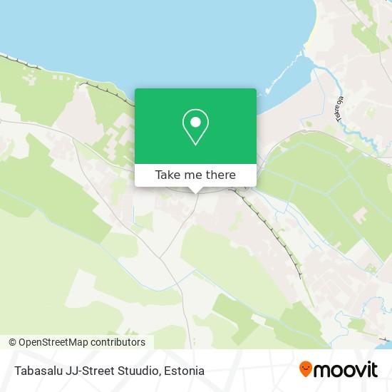 Tabasalu JJ-Street Stuudio map