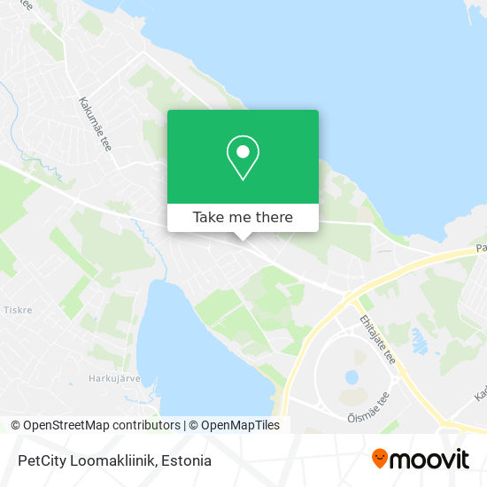 PetCity Loomakliinik map