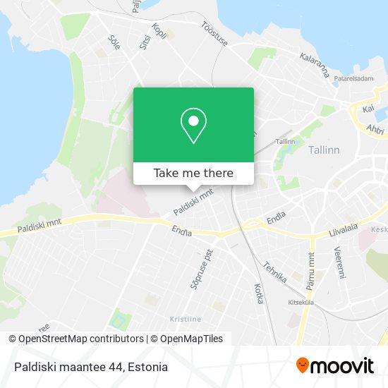 Paldiski maantee 44 map