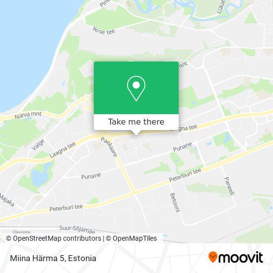 Miina Härma 5 map