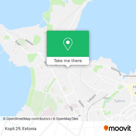 Kopli 29 map