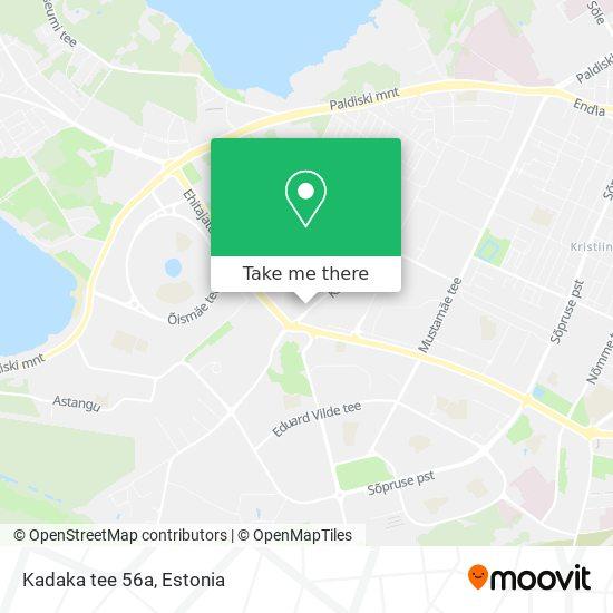 Kadaka tee 56a map