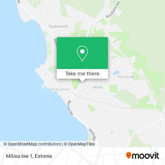 Mõisa tee 1 map