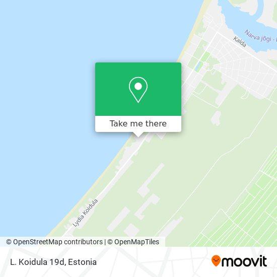 L. Koidula 19d map