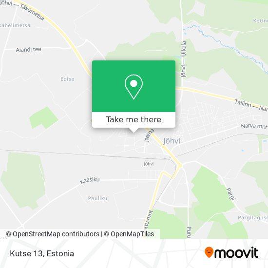 Kutse 13 map