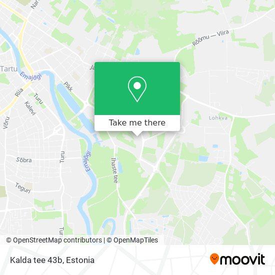 Kalda tee 43b map