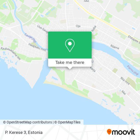 P. Kerese 3 map