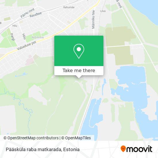 Pääsküla raba matkarada map