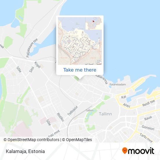 Kalamaja map