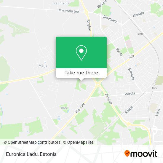 Euronics Ladu map